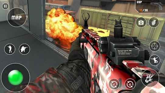 Fps Critical Action Strike Mod Apk (God Mode/Dumb Enemy) 4