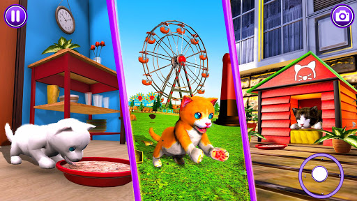 Virtual Pet Cat Game: Cute Kitty Cat Simulator android2mod screenshots 12