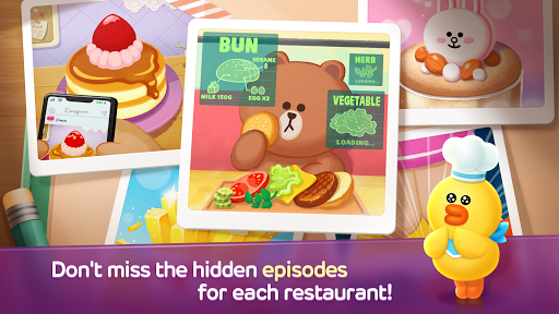 LINE CHEF Piske & Usagi Tie-Up On Now! apktram screenshots 14