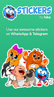 screenshot of Stickers By Hike