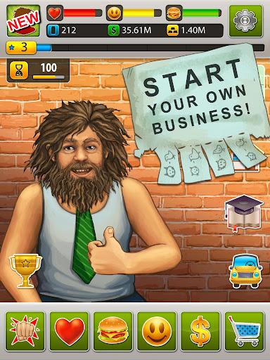 Hobo World - life simulator Apkfinish screenshots 12