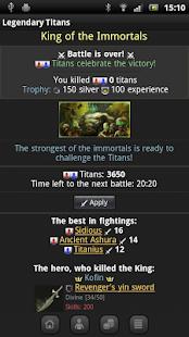 Clash of Legendary Titans