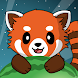 Red Panda: Casual Slingshot & Animal Logic Game