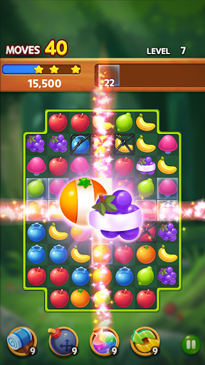 Fruit Magic Master: Match 3 Puzzle Latest screenshots 1