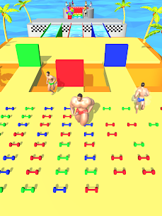 Muscle Race 3D (MOD, Unlimited Money) For Android 5