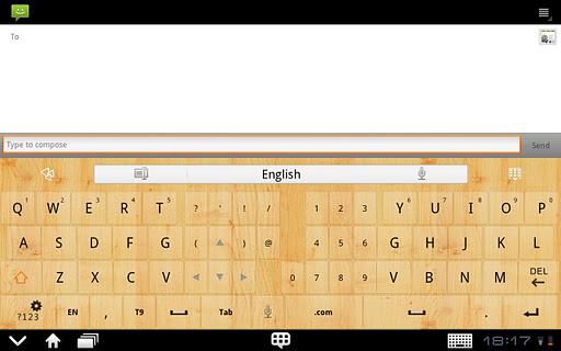 GOKeyboard WoodGraintheme(Pad) For PC Windows (7, 8, 10, 10X) & Mac Computer Image Number- 8