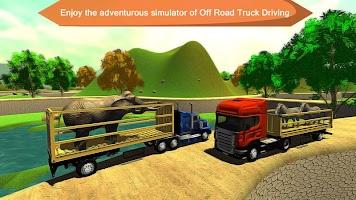 Offroad Animal Truck Transport Driving Simulator