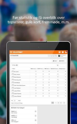 Holdsport - Hurtig tilmelding & kontingentbetaling 6.6.348 screenshots 13