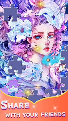 Paint by number - Relax Jigsaw 1.4.4 screenshots 2