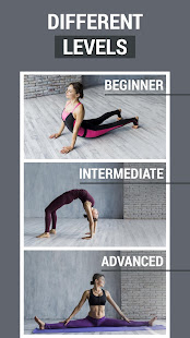 Stretching exercises - splits training at home
