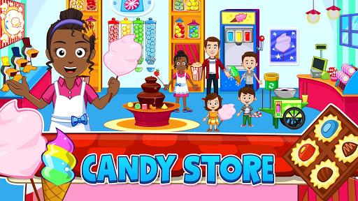 My Town: Stores - Doll house & Dress up Girls Game apktram screenshots 9