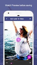 Add Audio to Video : Audio Video Mixer screenshot thumbnail