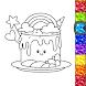 Unicorn Glitter Coloring Book: Coloring Unicorn