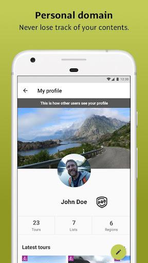 Outdooractive: Hiking & Biking Trails, GPS & Maps 3.3.28 Screenshots 8