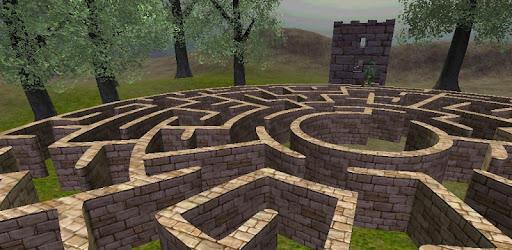 Screenshot of 3D Maze (The Labyrinth)