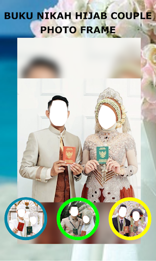 Book Wedding Hijab Couple Photo Frame 1.3 Screenshots 2