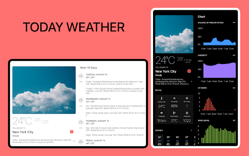 Today Weather Mod APK 2.0.0 Premium Unlocked Download For Android 7