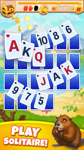 Solitaire Arcane: Fun Card Patience & Travelling apkpoly screenshots 14