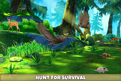 Wild Owl Bird Family Survival: Bird Simulator 3.0 screenshots 2