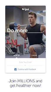 Argus Calorie Counter Diet, Activity, Step Tracker