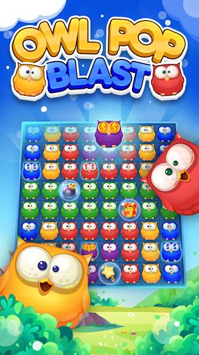 Owl PopStar -Blast Game 1.0.7 screenshots 1
