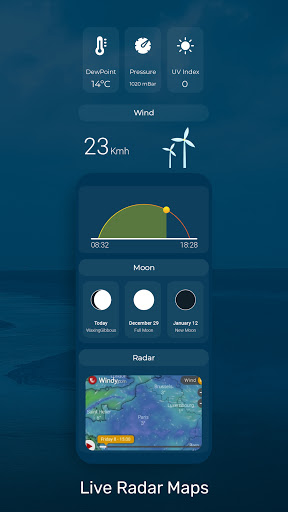 Weather Forecast - Accurate and Radar Maps  Screenshots 4