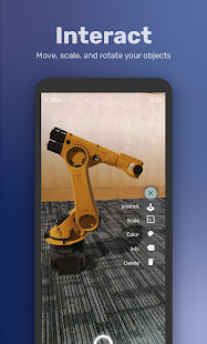 Download Vusar - Design Visualization for 3D CAD in AR For PC Windows and Mac apk screenshot 2