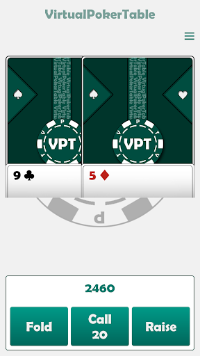 Virtual Poker Table : Cards, Chips & Dealer  screenshots 3