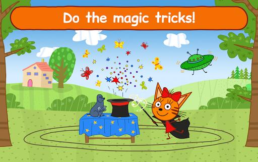 Kid-E-Cats Circus Games! Three Cats for Children  screenshots 22