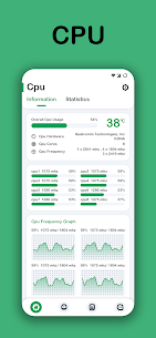 System Monitor Apk- Cpu, Ram Booster, Battery Saver (Paid) 1