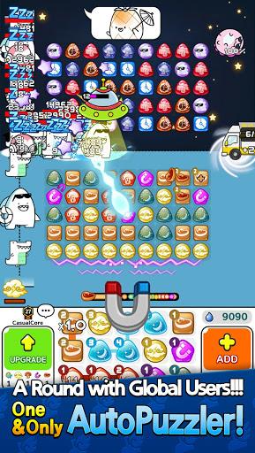 Auto Puzzle Defense : PVP Match 3 Random Defense  screenshots 1