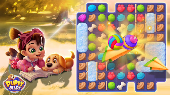 Puppy Diary: Popular Epic match 3 Casual Game 2021 screenshots 2