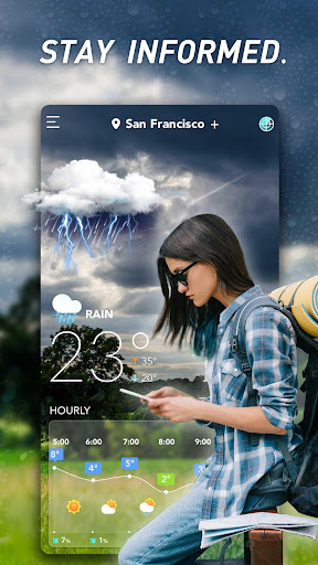 Accurate Weather: Weather Forecast, Clima Widget 1.1.8 Screenshots 1