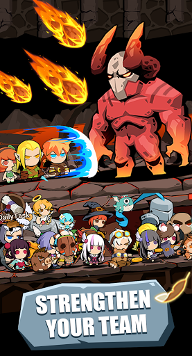 Tap Dungeon Hero:Idle Infinity RPG Game apktram screenshots 4