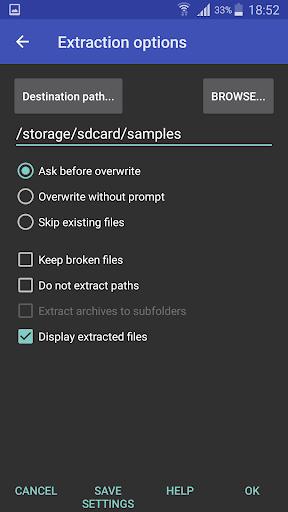 RAR 6.00.build96 Screenshots 3