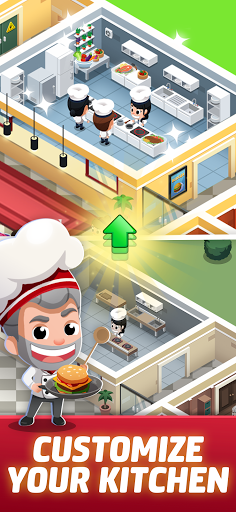 Idle Restaurant Tycoon - Build a cooking empire 1.1.1 screenshots 1