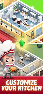 Idle Restaurant Tycoon Apk + Alışveriş Hileli indir v1.2.1 1
