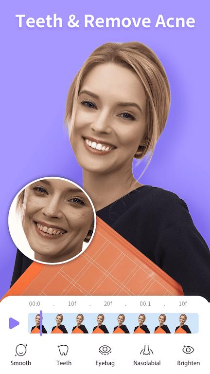 PrettyUp- Video Face & Body Editor & Selfie Camera  poster 6