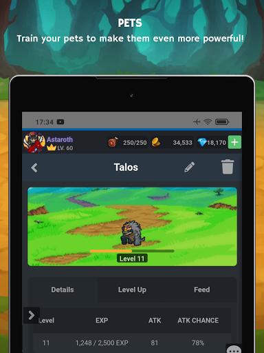 Mana Storia - Simple Browser MMORPG (Beta) 1.3 screenshots 14