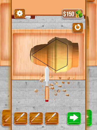 Wood Cutter - Wood Carving Simulator  screenshots 12