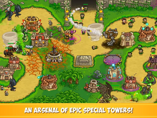 Kingdom Rush Frontiers - Tower Defense Game  screenshots 9