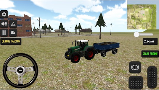 Real Farm Tractor Game 2021 3D Apk 4