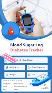 Blood Sugar Log – Diabetes Tracker v1.13 [Pro] [Mod] 1