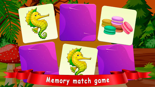 Pair matching and Tile Connect! For kids screenshots 1