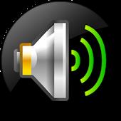 icono Amplificador de sonido