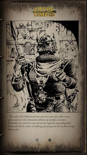 Fighting Fantasy Classics u2013 text based story game apkdebit screenshots 6