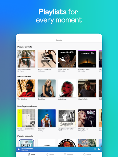 Deezer Music Player: Songs, Playlists & Podcasts  screenshots 18