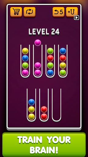 Sort Ball Puzzle apkpoly screenshots 3