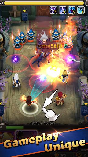 Code Triche Hyper Heroes: Marble-Like RPG APK Mod screenshots 1