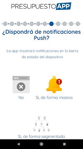 Presupuesto App  screenshots 6
